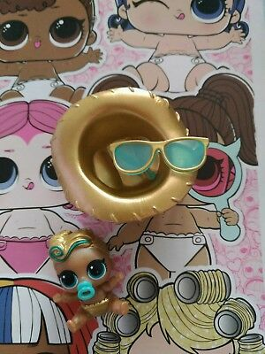 LOL Surprise Lil sisters SERIES 4 GOLD  RARE  Lil LUXE
