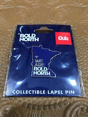 NFL Super Bowl 52 LII 2018 Lapel Trading Pin  We Are Bold North Minnesota