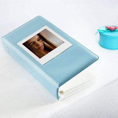 64 Pockets Photo Album Book for Fujifilm Instax Square SQ20 SQ10 SQ6 SP3 Blue