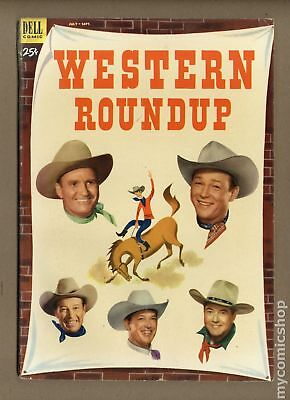 Dell Giant Western Roundup #3 1953 VG- 3.5