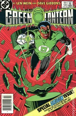 Green Lantern (1st Series DC) Canadian Edition #185 1985 FN Stock Image