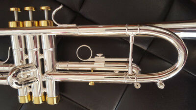 Berkeley Silver Bb Trumpet w/D2H MP (Monette Style)
