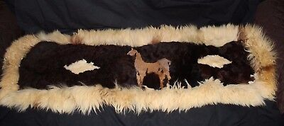 Alpaca Wool Home Decor Table Runner or Wall Hanging