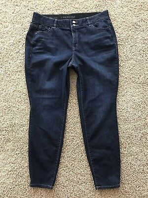 Lane Bryant Women's Plus Size 20 High Rise Skinny Tighter Tummy Stretch Jeans