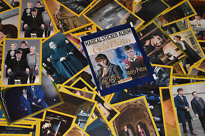 Panini FANTASTIC BEASTS 2 CRIMES OF GRINDELWALD / Harry Potter {select} Stickers