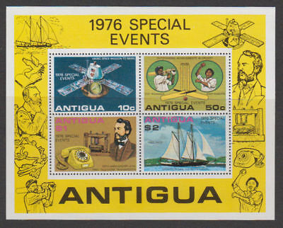 Antigua - 1976 Special Events Sheet. Sc. #458a, SG#MS525. Mint NH