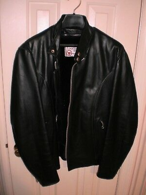 Vintage Size 42R 1989 Sears Leather Shop Motorcycle Jacket