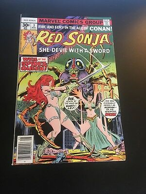 Red Sonja #3 (May 1977 Marvel) Perfect High Grade Nm-!