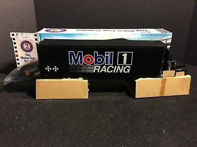 1994 Mobil Race Car Carrier Limited Edition Black Head,tail& Running Lights 1/64