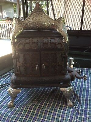 Antique Griswold Cast Iron Parlor Stove Very Rare