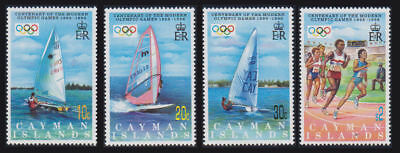 Cayman Is. - 1996 Olympic Games Set. Sc. #718-21, SG #820-3. Mint NH