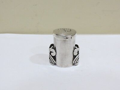 Vintage Solid Sterling Silver Pepper Shaker, 54 grams