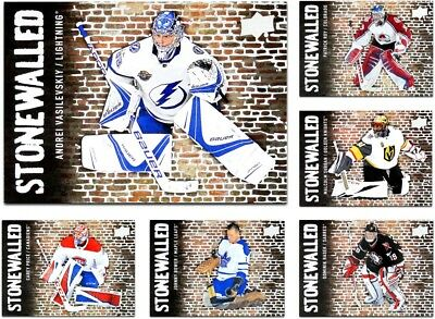 2018-19 UD Stonewalled **** PICK YOUR CARD **** From The LIST