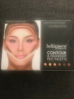 Bellapierre Cosmetics Contour and Highlight Pro Pallet