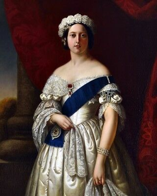 New 8x10 Photo: Portrait of a Young Queen Victoria of Great Britain, by Melville