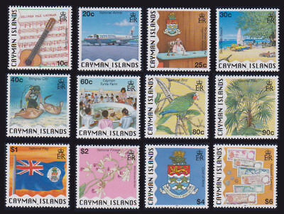 Cayman Is. - 1996 National Identity Set. Sc. #722-33, SG #824-35. Mint NH