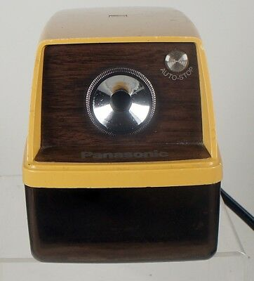 Panasonic KP-33A Point-O-Matic Electric Pencil Sharpener made Japan auto stop