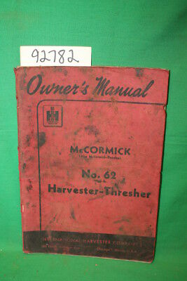 International Harvester Co... Owner's Manual McCormi...