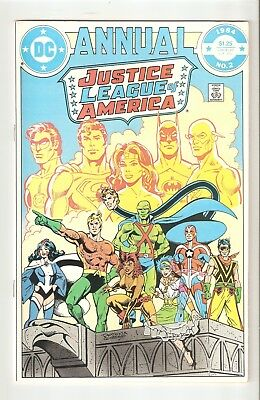 Justice League of America Annual #2 (1984) NM- 9.2 1st Vibe, Gypsy Flash TV