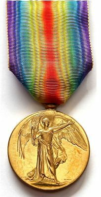 Wwi Victory Medal To 53Rd Bn Soldier - K.i.a. 1918