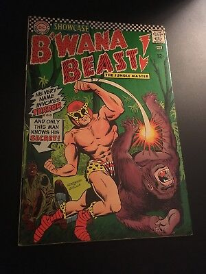 Showcase #66 (Feb 1967 Dc) 1St App B'wana Beast Perfect High Grade! Vf-!