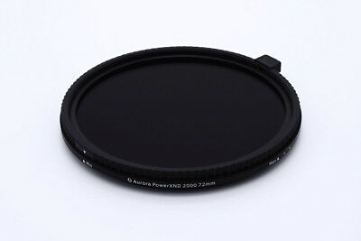 Aurora PowerXND Mark II 2000 Variable ND Filter Fader (5 - 11 Stops) 37-105mm
