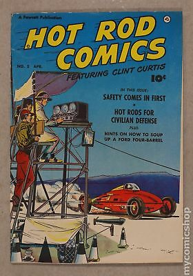Hot Rod Comics (U.S. Edition) #2 1952 VG+ 4.5