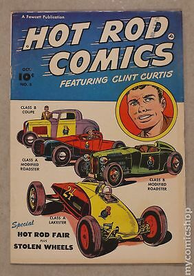 Hot Rod Comics (U.S. Edition) #5 1952 VG/FN 5.0
