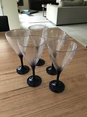 Tupperware Acrylic Plastic Illusions Wine Glasses - Pick Up Vic Or Post