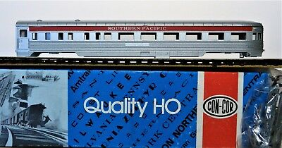 CON-COR ~SOUTHERN PACIFIC~ Corrugated ZEPHYR 81' OBSERVATION TAIL CAR ~MINT{+}~