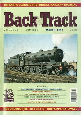 Back Track: Volume 25 No 3 March 2011