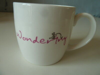Ponder Mugs[Jersey Pottery]~Original Thoughts&ideas By Splimple~Wondering Mug