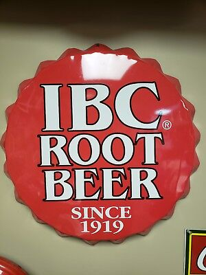 IBC Root Beer Metal Sign