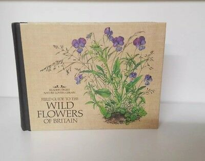Field Guide To The Wild Flowers Of Britain - Readers Digest Hardback (a)