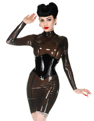 Libidex Latex korsett corset dress kleid burlesque NP280 neu domina orginalverpa