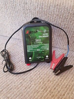 Battery Electric Fencer XSTOP BA10 12v 0.1 Joules Fence Energiser