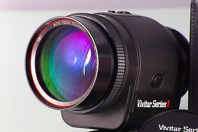 VIVITAR SERIES 1 AF 3.5/200 FOR CANON FD SERIES A1 F1 AE1 F1New GARANTIZADO