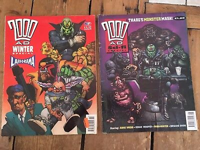 2000AD Magazines X2 Special Editions