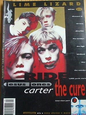 Lime Lizard Magazine April 1991, Cure