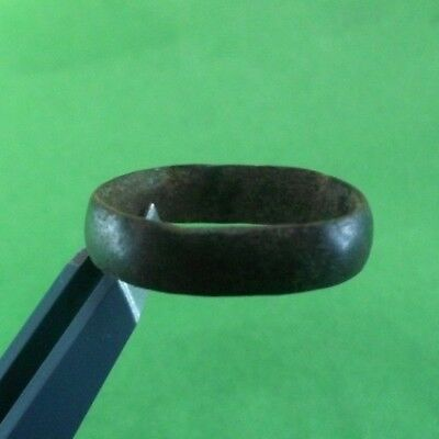 Superb Ancient Celtic Bronze Ring  -  200/100 Bc