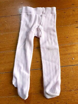 Marquise Pale Pink Baby Girl Tights 0-6 Months