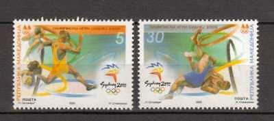 P064  Olympiade 2000 Makedonien 197/98 **/MNH