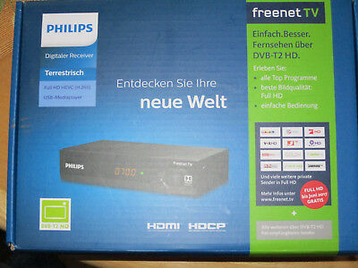 PHILIPS DTR3502B DVB-T2 HD Receiver