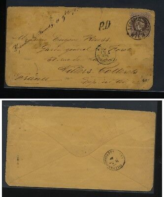 Austria   32  on  cover to  France         MS0913