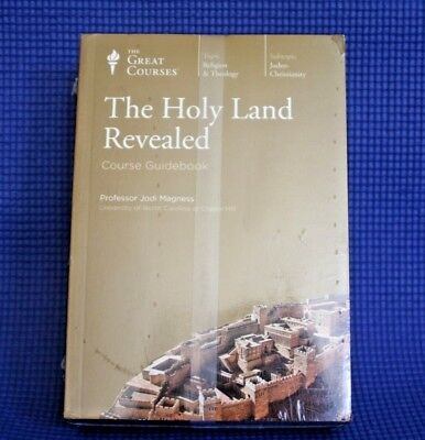 The Great Courses ~ The Holy Land Revealed ~Audio CD's with Guidbook ~Brand New!