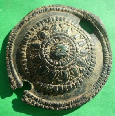 Large Ancient Celtic Bronze Solar Decoration  - 200/100 Bc