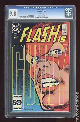 Flash (1st Series DC) #348 1985 CGC 9.8 0966879028