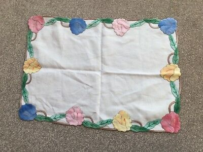Small but pretty piece of high quality sewing.