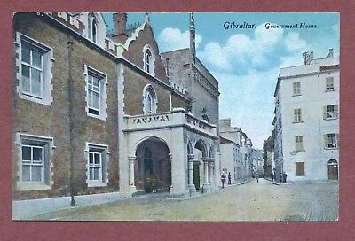 Government House   Gibraltar  Vintage  Colour,   Beanland, Malin & Co.    AH1002
