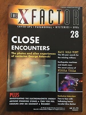 The X Factor Magazine No 28 - Close Encounters